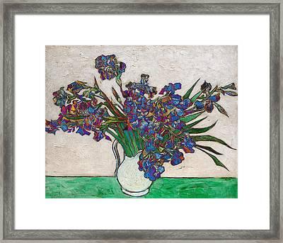 Blend 16 Van Gogh Framed Print by David Bridburg