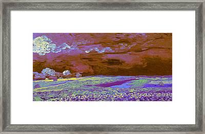 Blend 18 Van Gogh Framed Print by David Bridburg