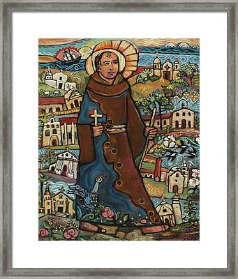 Blessed Junipero Serra Framed Print by Jen Norton