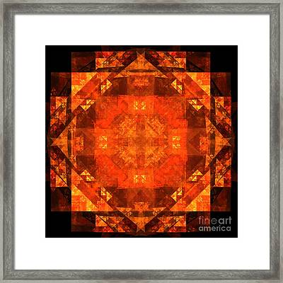 Blessing Framed Print by Oni H
