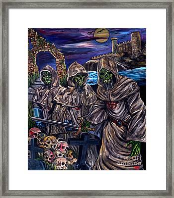 Blind Dead Framed Print by Jose Mendez