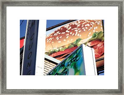 Bloated Framed Print by Kreddible Trout