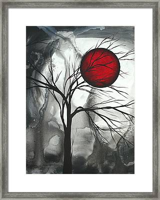 Blood Of The Moon 2 By Madart Framed Print by Megan Duncanson