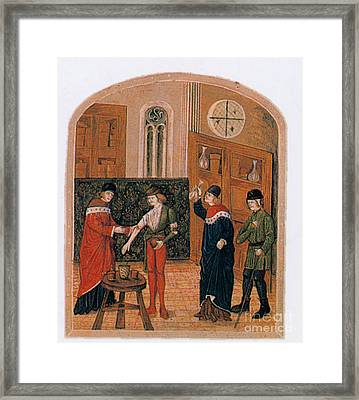 Bloodletting Framed Print by Science Source
