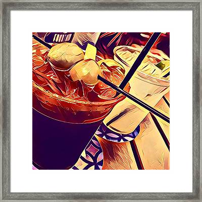 Bloody Mary And Moscow Mule Framed Print by Frush Photos