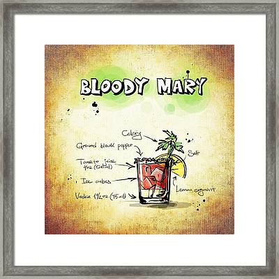 Bloody Mary Framed Print by Movie Poster Prints