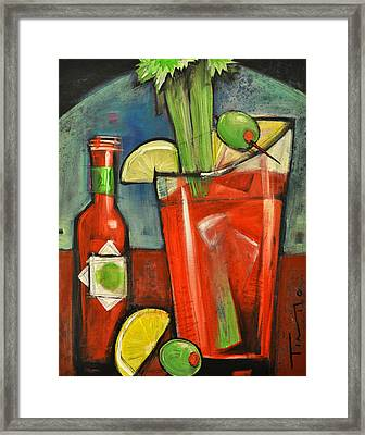 Bloody Mary Framed Print by Tim Nyberg