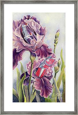Bloomin Fifties Framed Print by Malanda Warner