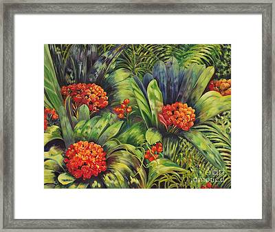 Blooming Gorgeous Framed Print by Caroline Street
