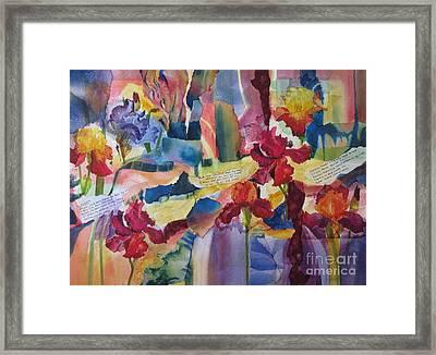 Blossom Framed Print by Deborah Ronglien