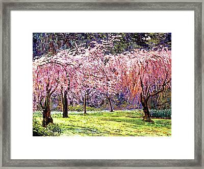 Blossom Fantasy Framed Print by David Lloyd Glover