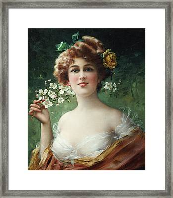 Blossoming Beauty Framed Print by Emile Vernon