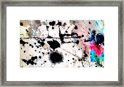 Blotch  Framed Print by Amy Sorrell