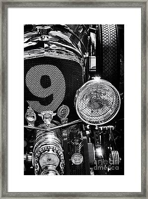 Blower Bentley Framed Print by Tim Gainey