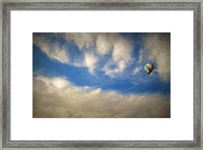 Blown Into A Soft Sky Framed Print by Glenn McCarthy Art and Photography