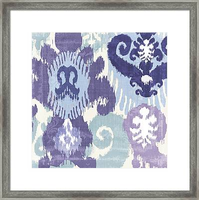 Blue Curry I Framed Print by Mindy Sommers