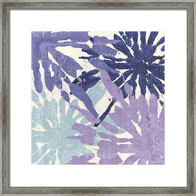 Blue Curry II Framed Print by Mindy Sommers