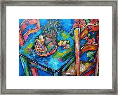 Blue Day Framed Print by Patti Schermerhorn