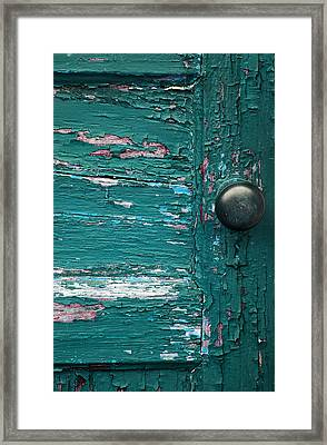 Blue Door Framed Print by Joanne Coyle