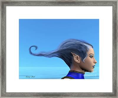 Blue Dreams Framed Print by Corey Ford