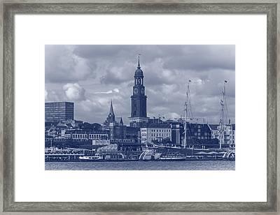 Blue Hamburg Framed Print by Mountain Dreams
