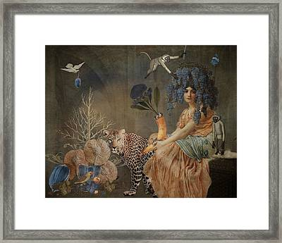 Blue Harvest Framed Print by Terry Fleckney