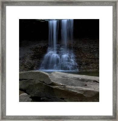 Blue Hen Falls Framed Print by Dan Sproul
