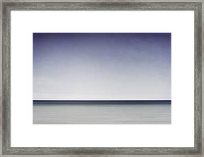 Blue Horizon Framed Print by Scott Norris