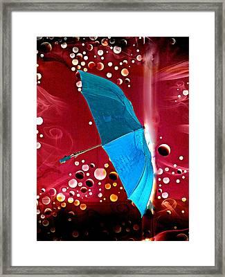 Blue Magic Framed Print by Marcia Lee Jones