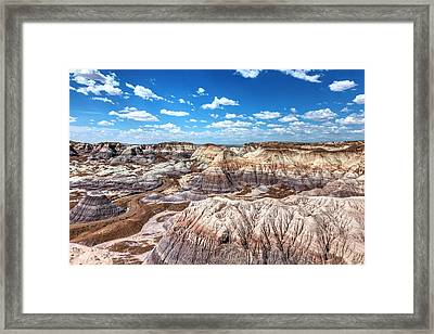 Blue Mesa Framed Print by James Marvin Phelps