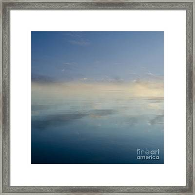 Blue Morning At Glendale Framed Print by Dave Gordon