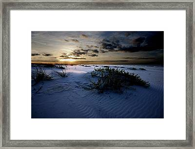 Blue Morning Framed Print by Michael Thomas