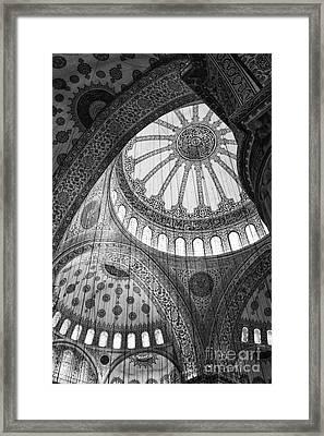 Blue Mosque Framed Print by Leslie Leda