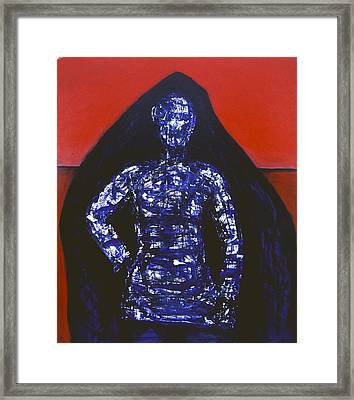 Blue Nun Target Framed Print by Billy Knows