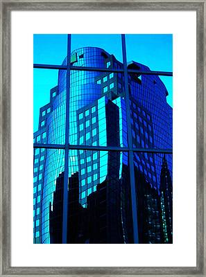 Blue Reflections ... Framed Print by Juergen Weiss