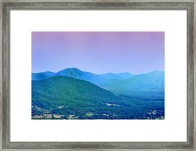 Blue Ridge Mountains Framed Print by Bill Cannon
