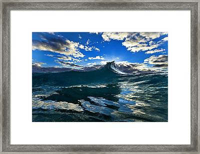 Blue Rogue Framed Print by Sean Davey