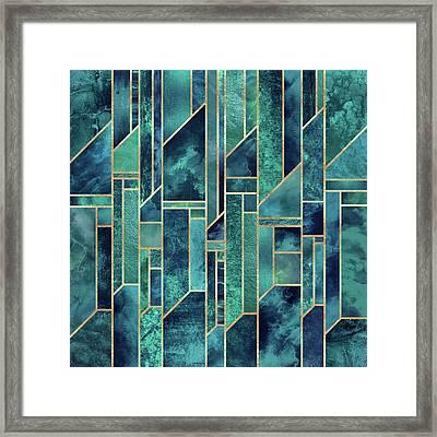 Blue Skies Framed Print by Elisabeth Fredriksson