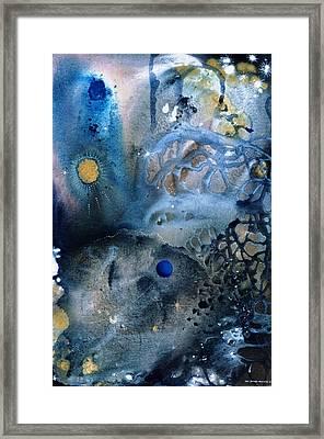 Blue Star Rising Framed Print by Lee Pantas