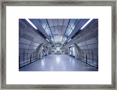 Blue Tomorrow Framed Print by Evelina Kremsdorf