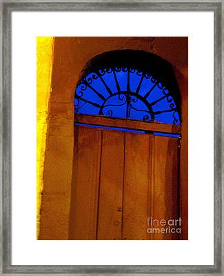 Blue Twilight By Michael Fitzpatrick Framed Print by Mexicolors Art Photography