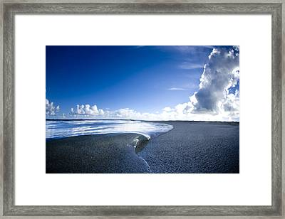 Blue Velvet Framed Print by Sean Davey
