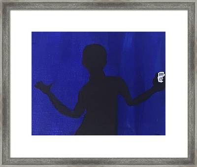 Blued Framed Print by Joshua Maddison