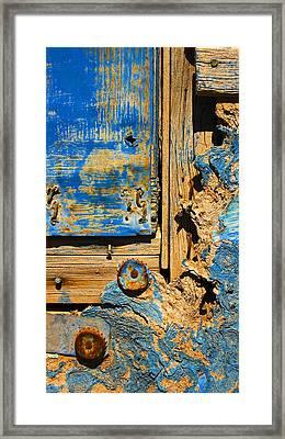 Blues Dues Framed Print by Skip Hunt