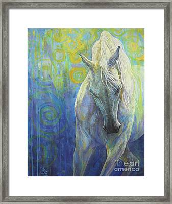 Blues Fighter Framed Print by Silvana Gabudean