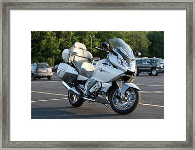 Bmw K1600 Gtl Framed Print by Peter Chilelli