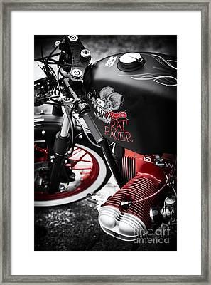 Bmw Rat Racer Framed Print by Tim Gainey