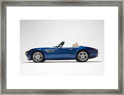 Bmw Z8 Framed Print by Dean Farrell