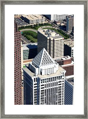 Bny Mellon Center 1735 Market Street Philadelphia Pa 19103 2998 Framed Print by Duncan Pearson