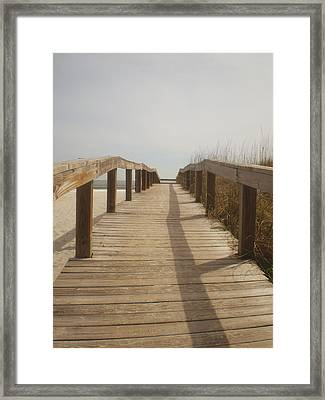 Boardwalk Framed Print by Utopia Concepts